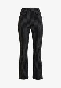4th & Reckless - MARIANNA TROUSER - Kangashousut - black - 4