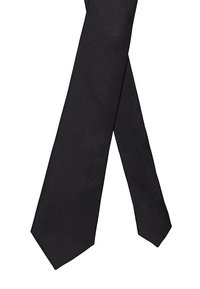 Selected Homme - SLHNEW PLAIN TIE - Tie - black - 2