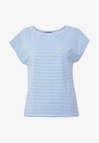 NOREL - Print T-shirt - azurblau
