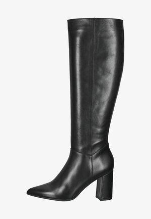 High heeled boots - schwarz nappu