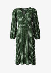 Indiska - SENJA LS - Jersey dress - green - 5