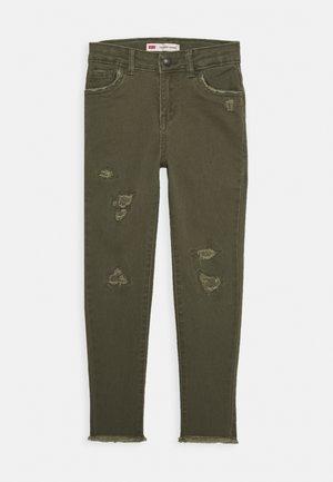 710 COLOR - Jeansy Skinny Fit - olive night