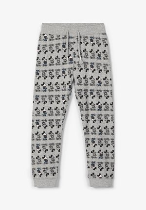 NMMMICKEY - Tracksuit bottoms - grey melange