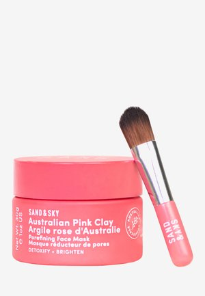 AUSTRALIAN PINK CLAY - POREFINING FACE MASK TRAVEL SIZE - Skincare set - -