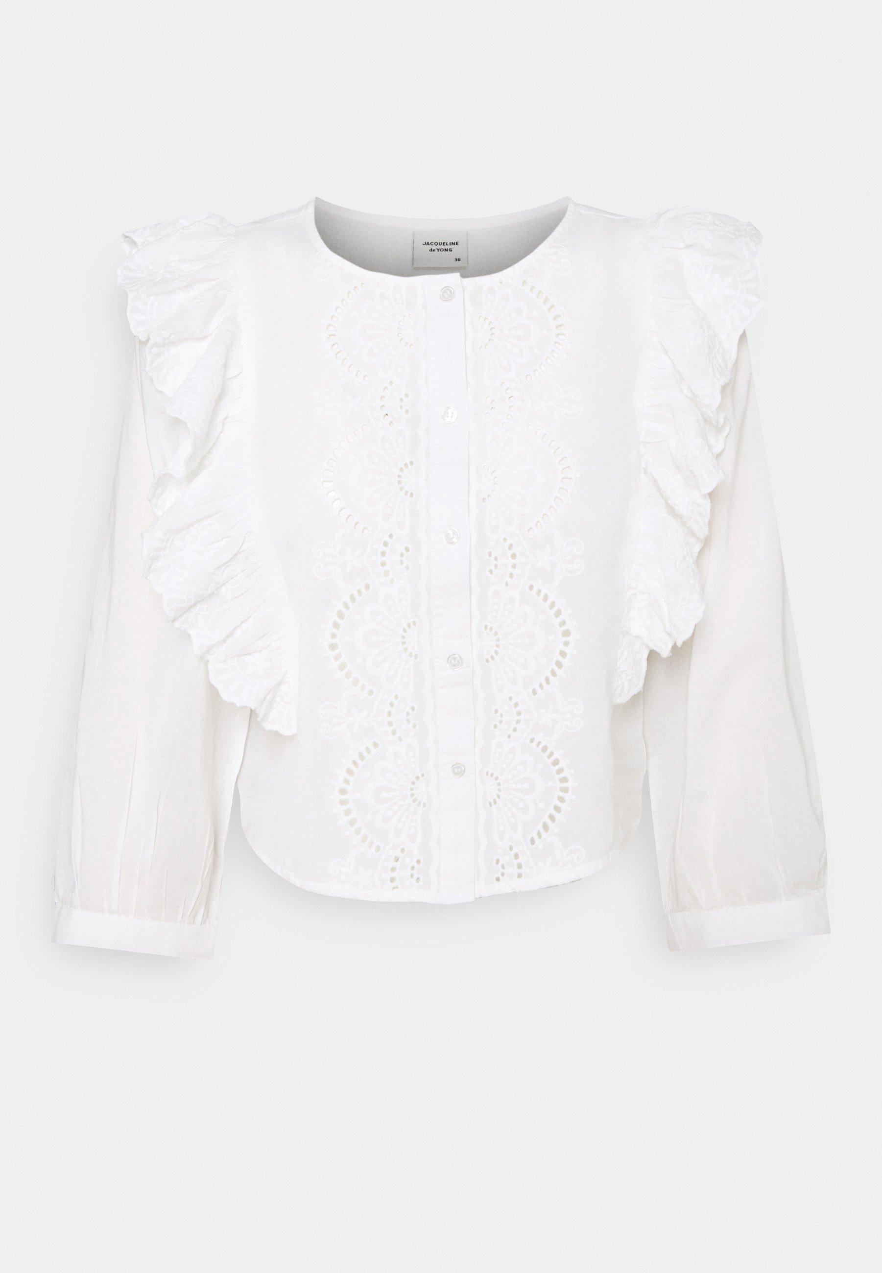 Women JDYSEVILIA LIFE 3/4 SHORT BLOUSE - Long sleeved top
