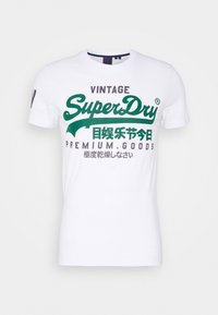 Superdry - TEE - Print T-shirt - white - 3