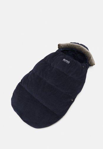 BABY SLEEPING BAG UNISEX - Baby's sleeping bag - navy