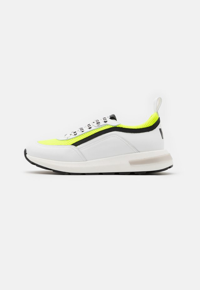 Sneaker low - white/neon yellow
