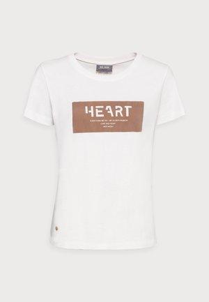 CHÉRIE TEE - Print T-shirt - woodsmoke