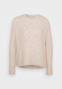 ONLY - ONLOLIVIA O NECK - Maglione - nude - 5