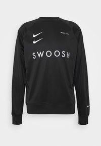 Nike Sportswear - CREW - Bluzka z długim rękawem - black/white - 4
