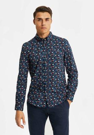 MET ALL-OVER DESSIN - Shirt - dark blue