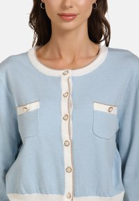faina - Cardigan - light blue - 3