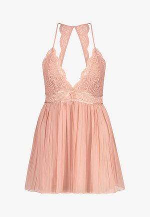 BABY-DOLL CHIFFON - Nightie - tan