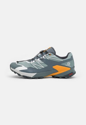 WINGS SKY - Trail running shoes - slate/ebony/butterscotch