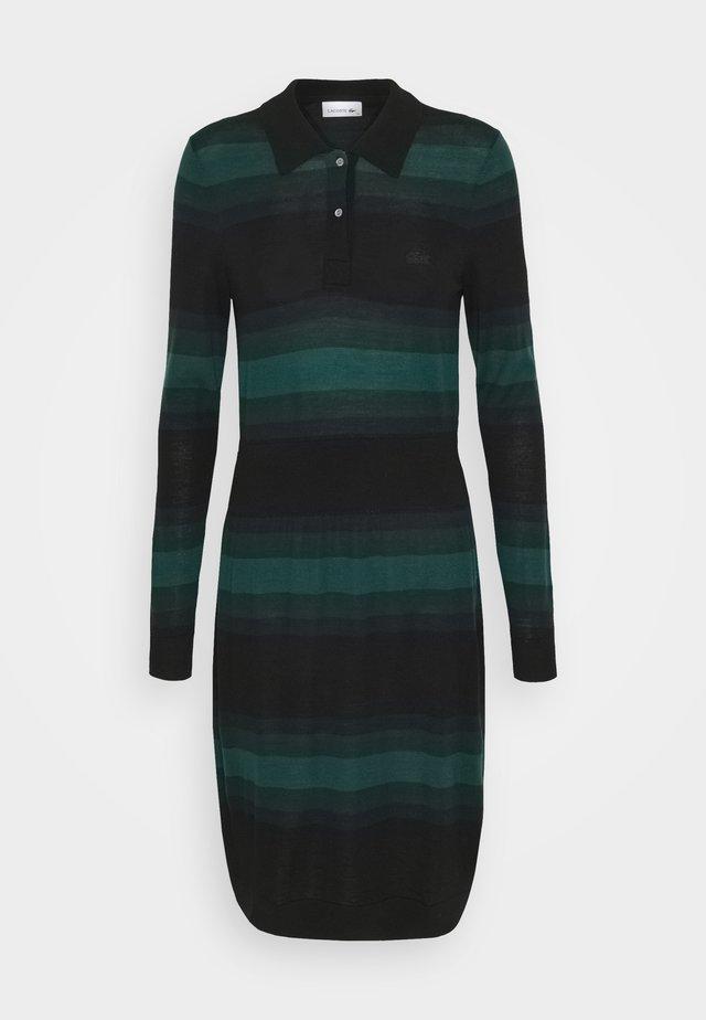 Jumper dress - black/navy blue
