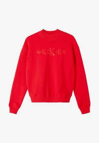 Calvin Klein Jeans - Sweatshirt - red hot darker red - 4