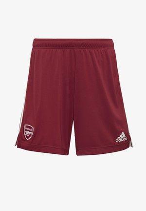 ARSENAL FC AWAY AEROREADY SHORTS - Sports shorts - burgundy