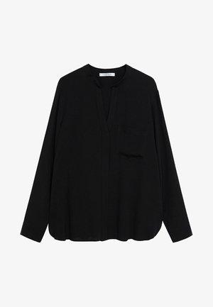 LEOPARD7 - Blouse - schwarz