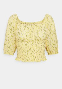 ONLY - ONLPELLA SMOCK - T-shirt med print - sunshine - 0