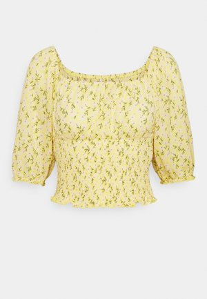 ONLPELLA SMOCK - Print T-shirt - sunshine