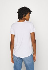 Hollister Co. - EASY CREW 3 PACK - Triko s potiskem - white/grey/black - 3