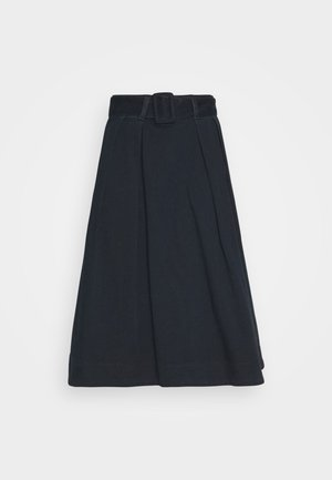 SOFT MIDI SKIRT KELLY - A-line skirt - kelly