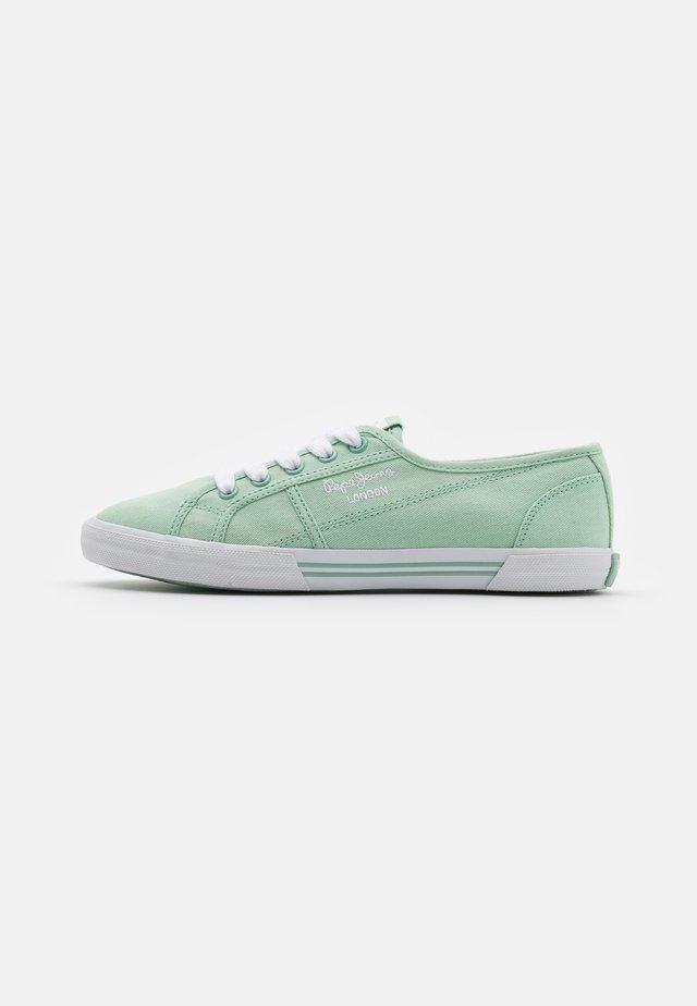 ABERLADY ECOBASS - Sneakersy niskie - spearmint