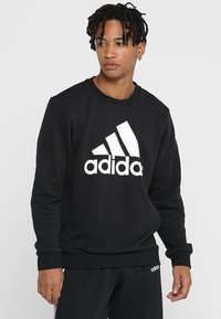 adidas Performance - BOS CREW - Sweatshirt - black/white - 0