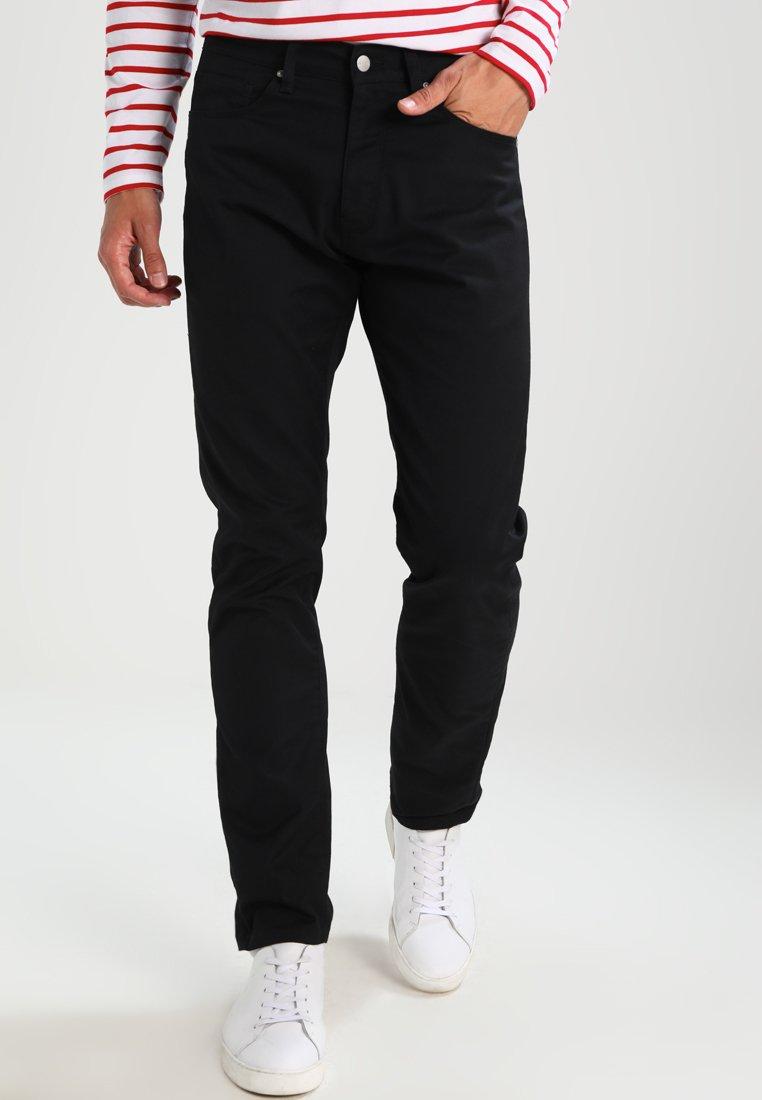 Carhartt WIP - VICIOUS PANT LAMAR - Trousers - black rinsed