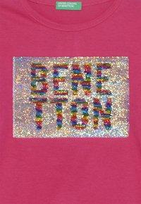 Benetton - Longsleeve - pink - 3