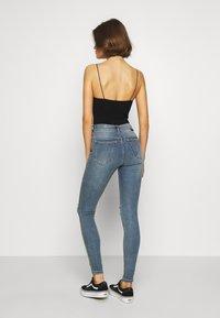 Dr.Denim - LEXY - Jeans Skinny Fit - westcoast blue ripped - 2