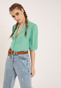 Pimkie - Button-down blouse - green - 3