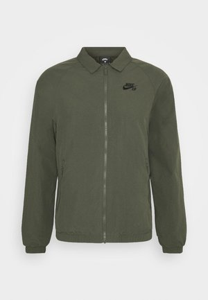 ESSENTIAL JACKET UNISEX - Summer jacket - cargo khaki/black