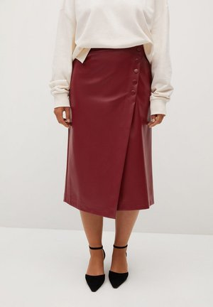 A-line skirt - granato