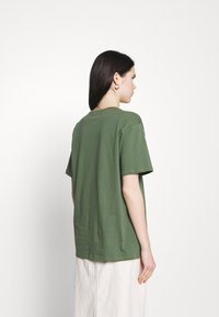 Trendyol - Print T-shirt - khaki - 2