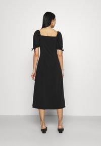 Fashion Union - BIATRRITZ MIDI DRESS - Day dress - black - 2