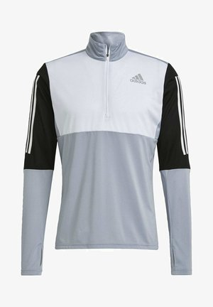 OWN THE RUN RUNNING 1/2 ZIP SWEATSHIRT - Sweatshirt - grey