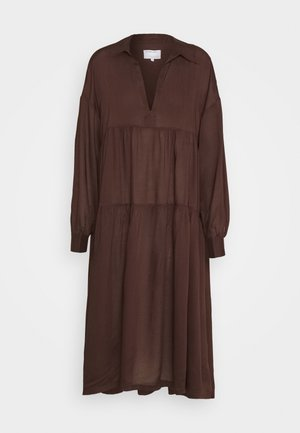 AYONESS DRESS - Day dress - chocolate