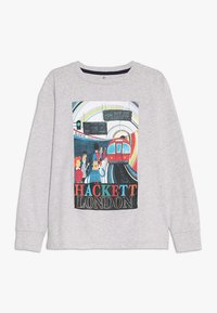 Hackett London - TRAIN  - Langarmshirt - mottled light grey - 0