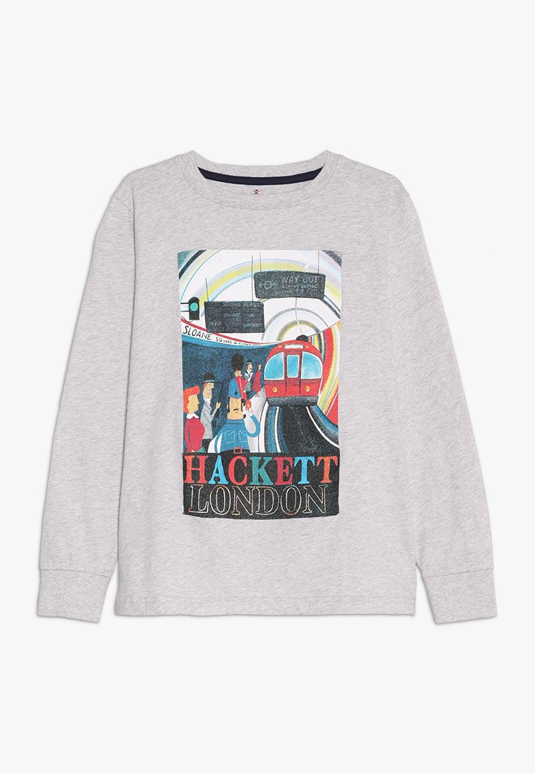 Hackett London - TRAIN  - Langarmshirt - mottled light grey