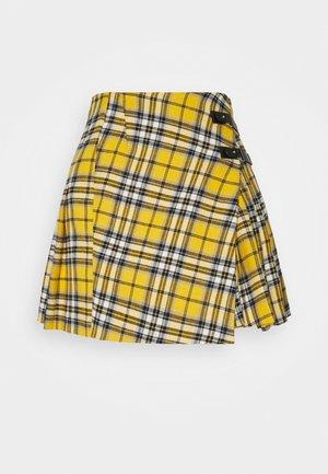 JORIS - Mini skirt - jaune