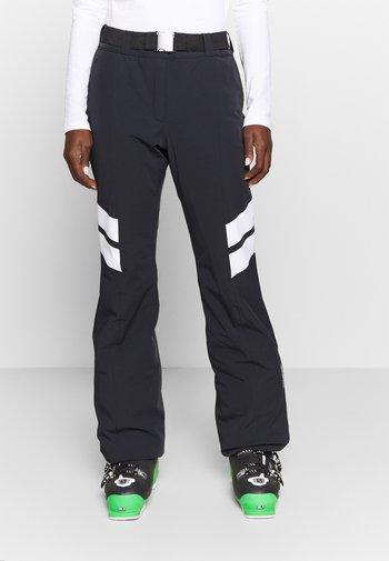 LADIES PANTS - Ski- & snowboardbukser - black/white