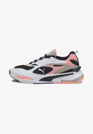 RS-FAST - Trainers - black-white-elektro peach