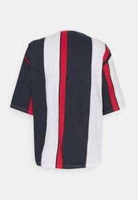YOURTURN - UNISEX - Print T-shirt - blue/red/white - 7