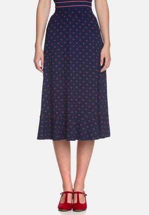 MON PETIT PARIS  - A-line skirt - blue