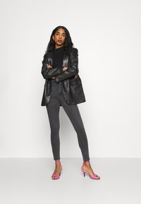 Gina Tricot - Jeans Skinny Fit - dark grey - 1