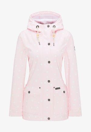 Parka - pink dots