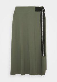 Marc Cain - A-line skirt - crocodile - 0