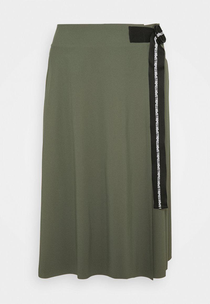 Marc Cain - A-line skirt - crocodile